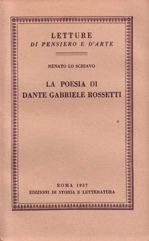 copertina di La poesia di Dante Gabriele Rossetti