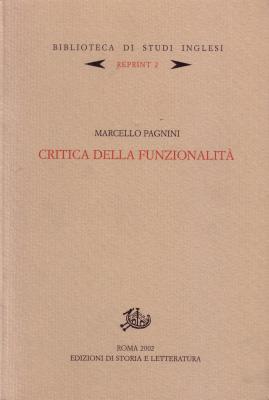 copertina di Critica della funzionalità