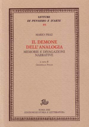 copertina di Il demone dell'analogia