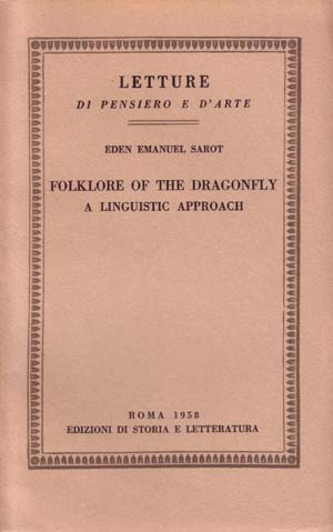 copertina di Folklore of the Dragonfly