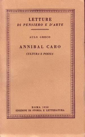 copertina di Annibal Caro