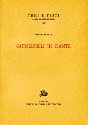 copertina di Guinizzelli in Dante