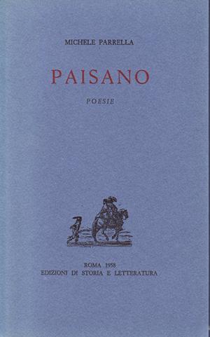 copertina di Paisano