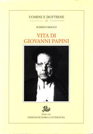 copertina di Vita di Giovanni Papini