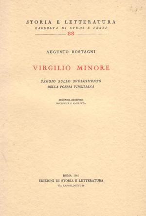 copertina di Virgilio minore