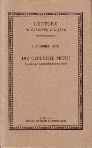 copertina di Die gesuchte Mitte