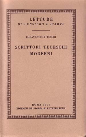 copertina di Scrittori tedeschi moderni