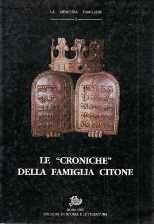 copertina di Le «Croniche» della famiglia Citone