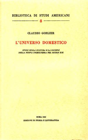copertina di L'universo domestico