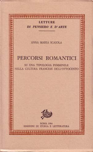 copertina di Percorsi romantici