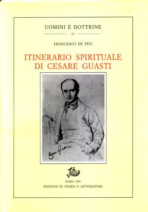 copertina di Itinerario spirituale di Cesare Guasti