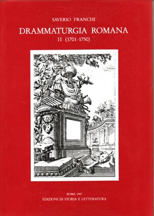copertina di Drammaturgia romana, II