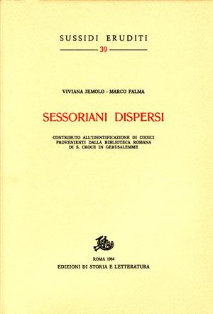 copertina di Sessoriani dispersi