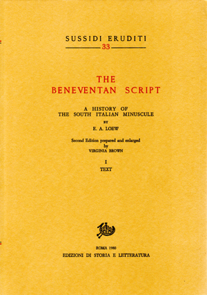 copertina di The Beneventan Script