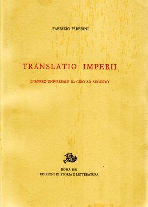 copertina di Translatio Imperii