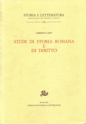 copertina di Studi di storia romana e di diritto