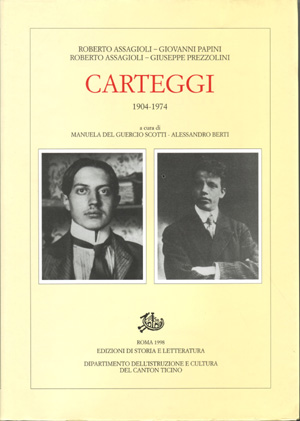 copertina di Carteggi
