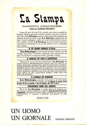 copertina di Un uomo, un giornale: Alfredo Frassati, vol. III