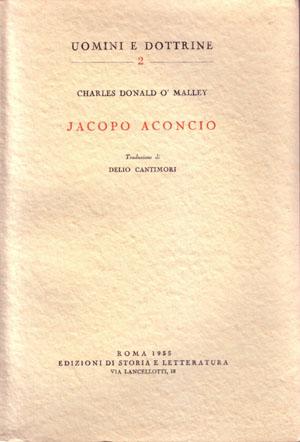 copertina di Jacopo Aconcio