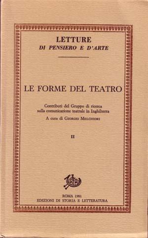 copertina di Le forme del teatro. II