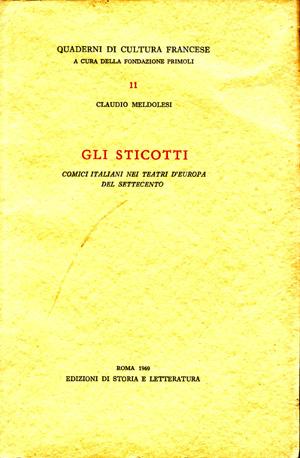 copertina di Gli Sticotti