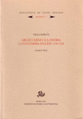 copertina di Arlecchino a Londra
