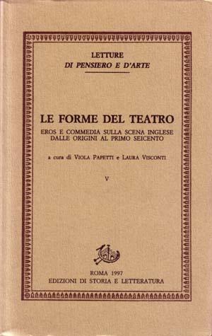 copertina di Le forme del teatro. V
