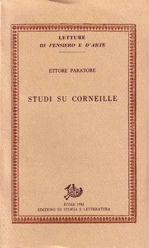 copertina di Studi su Corneille
