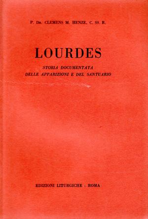copertina di Lourdes