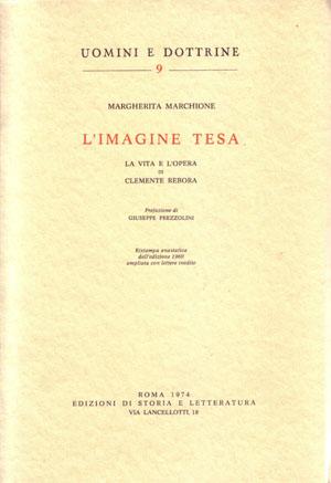copertina di L'Imagine tesa