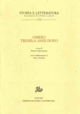copertina di Omero tremila anni dopo