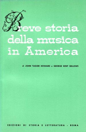 copertina di Breve storia della musica in America