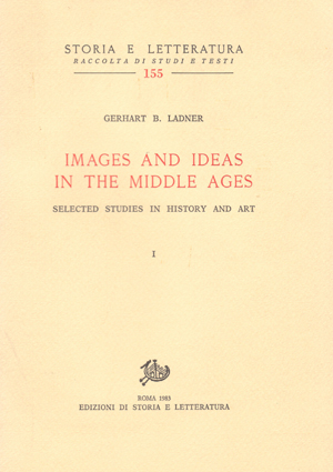 copertina di Images and Ideas in the Middle Ages