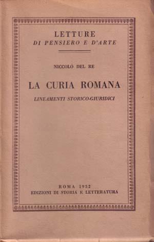 copertina di La Curia romana