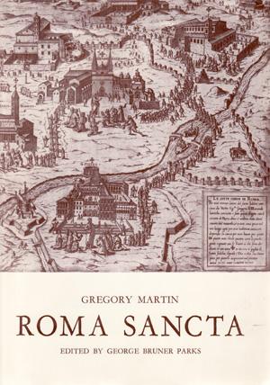 copertina di Roma sancta (1581)