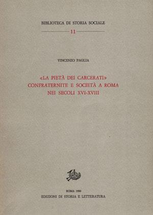 copertina di «La Pietà dei carcerati»