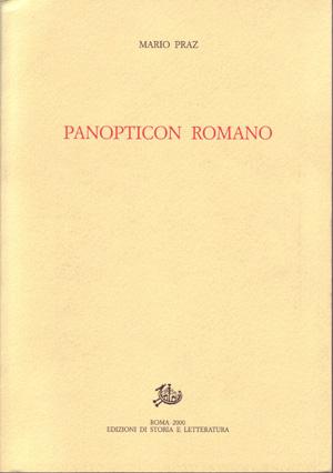 copertina di Panopticon romano