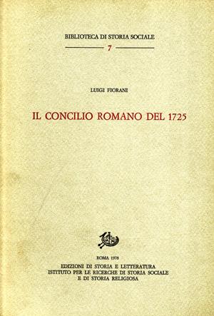 copertina di Il Concilio Romano del 1725