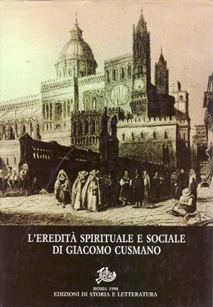 copertina di L'eredità spirituale e sociale di Giacomo Cusmano