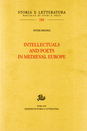 copertina di Intellectuals and Poets in Medieval Europe