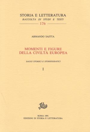 copertina di Momenti e figure della civiltà europea, voll. I-II