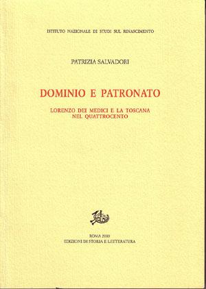 copertina di Dominio e patronato