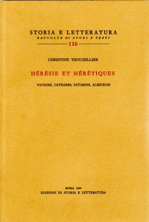 copertina di Hérésie et hérétiques