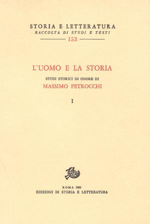 copertina di L'uomo e la storia