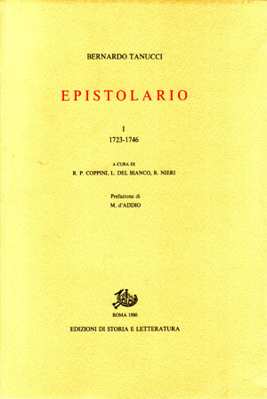 copertina di Epistolario. I-II