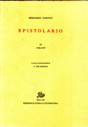 copertina di Epistolario. IV