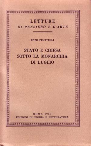 copertina di Stato e Chiesa sotto la Monarchia di luglio