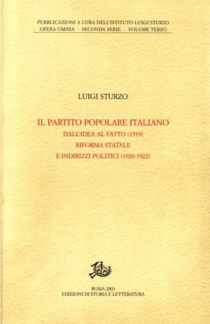 copertina di Il Partito Popolare Italiano