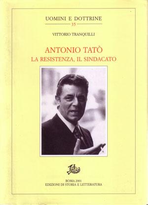 copertina di Antonio Tatò