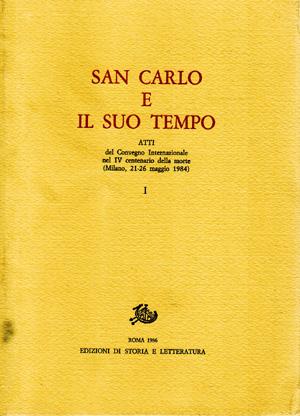 copertina di San Carlo e il suo tempo